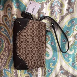 Brand New With Tags Coach Wristlet
